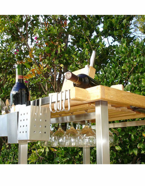 Kitchen-island-has-wine-rack-built-in