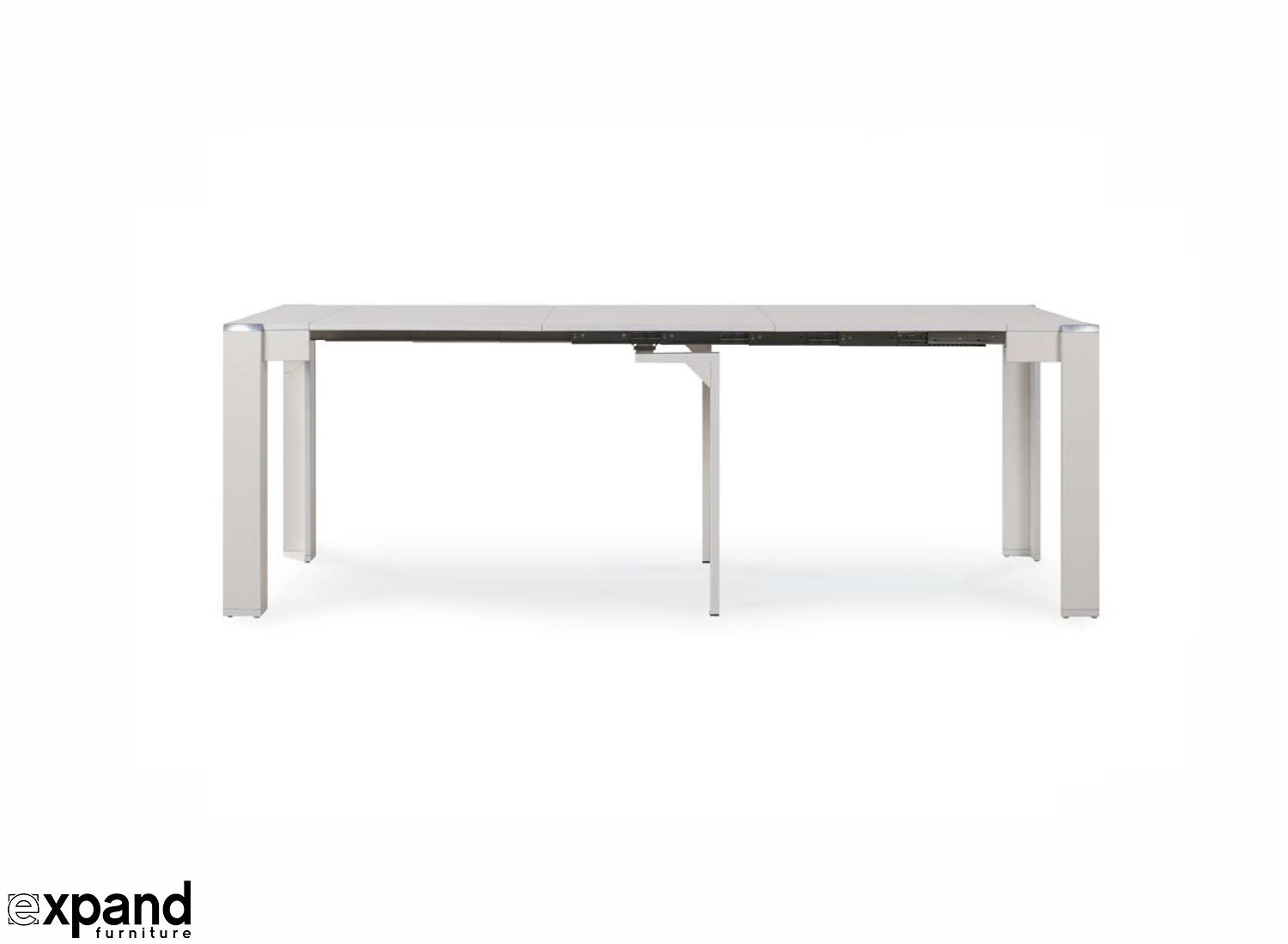 Extending Coffee Table Expanda Console With Contained Extensions Expand Furniture