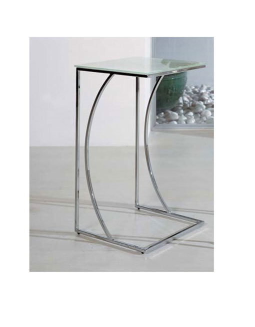 Crescent Glass Side Table Expand Furniture Folding Tables Smarter Wall B