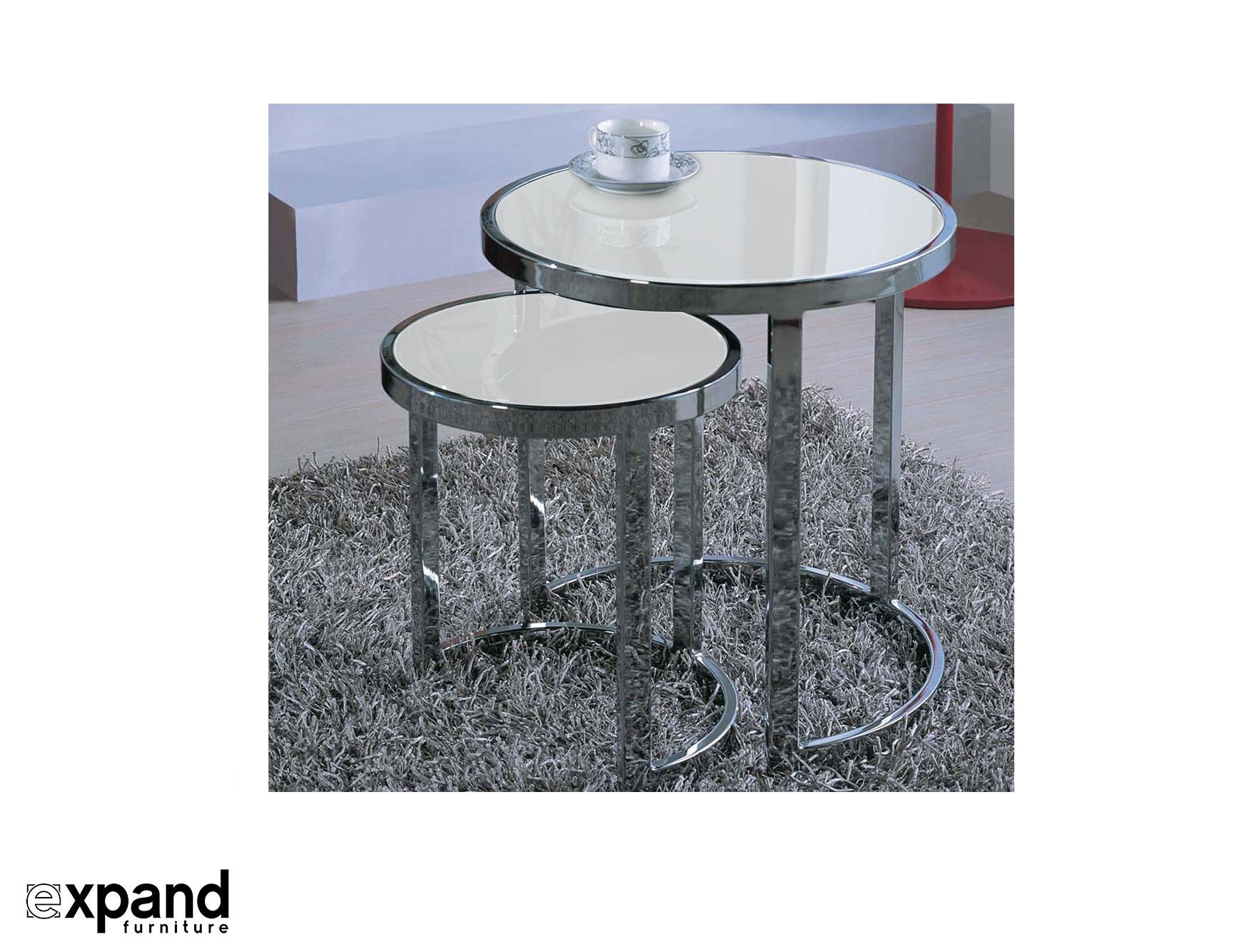 The Harmony Nesting Table Set Expand Furniture Folding