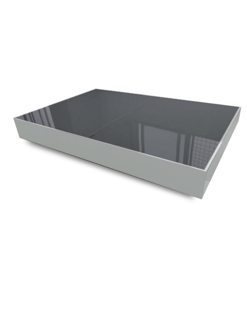 Light-Grey-and-dark-grey-blue-Glass-Box-coffee-table