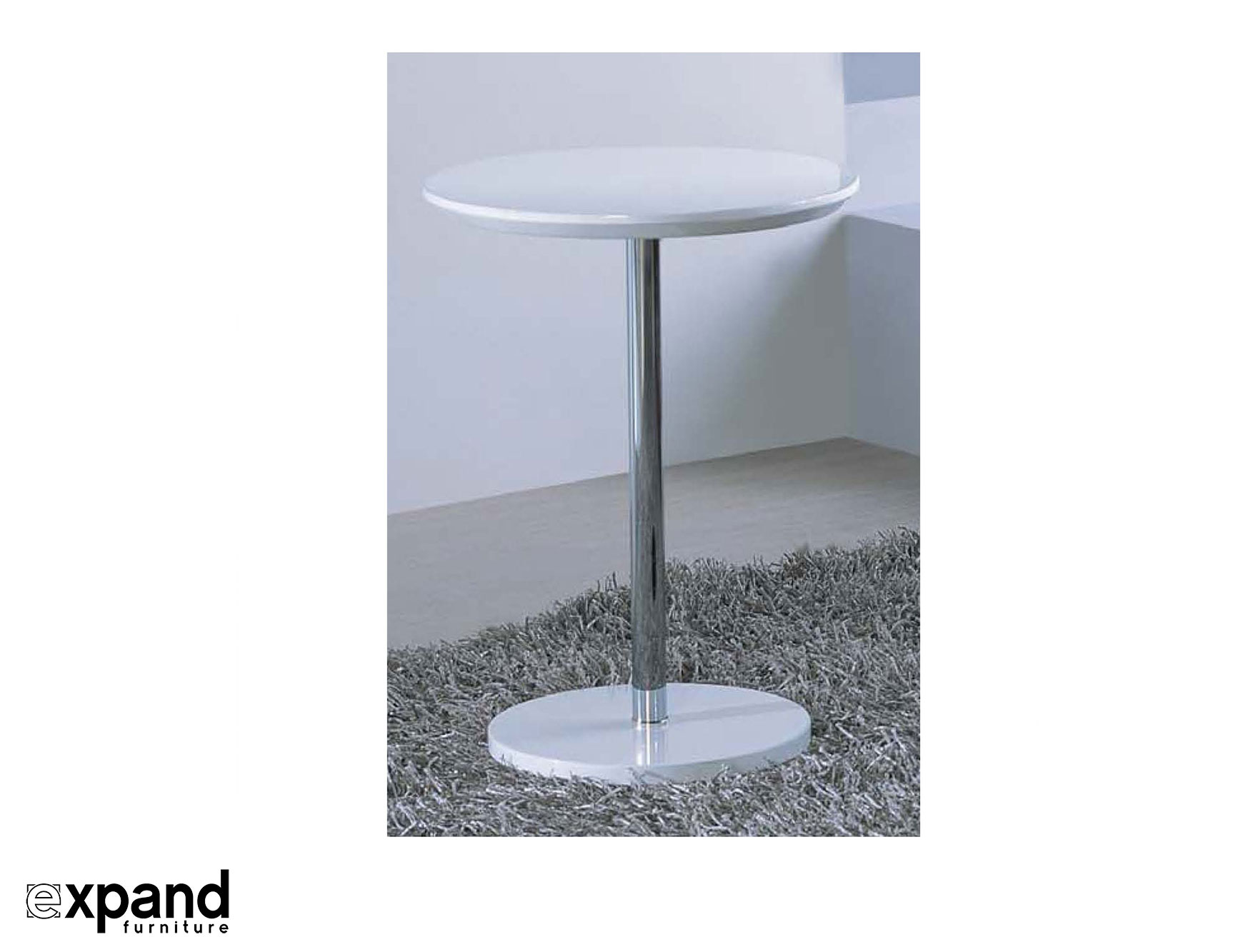 Minima Small Round Table Expand Furniture Folding Tables