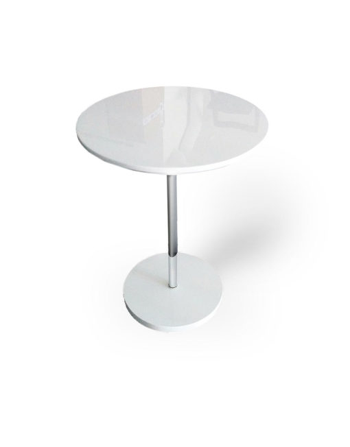 minima round side table