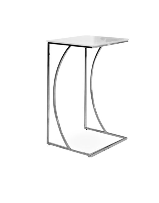 Tall carved eastlake rolling side table accent tables for Tall white end table