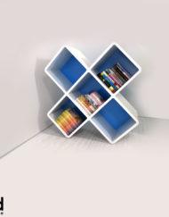 210-3x3cb-X-shaped-bookshelf-unique-storage-in-white-and-blue
