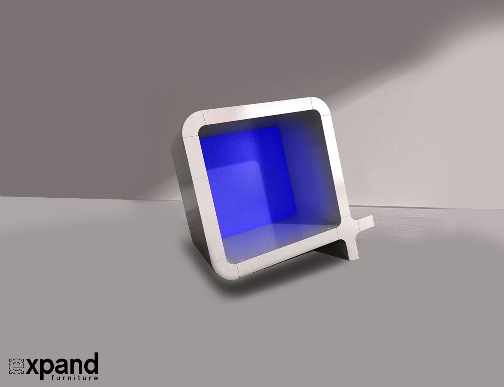 Q Shaped Storage Cube Set Expand