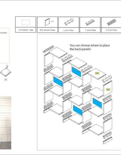 L3030-3x3-bookshelf-design-plan