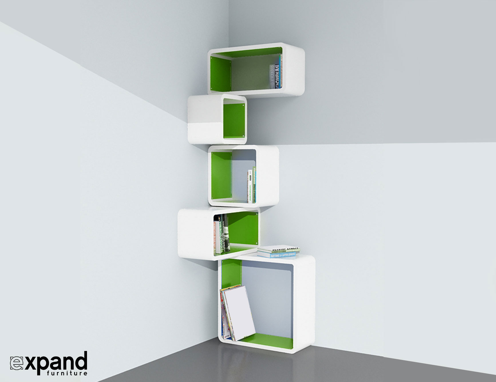 shelf organizer single copy door re cube