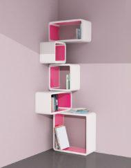 Modular-Corner-Cube-Wall-Shelf-M-in-white-and-Pink
