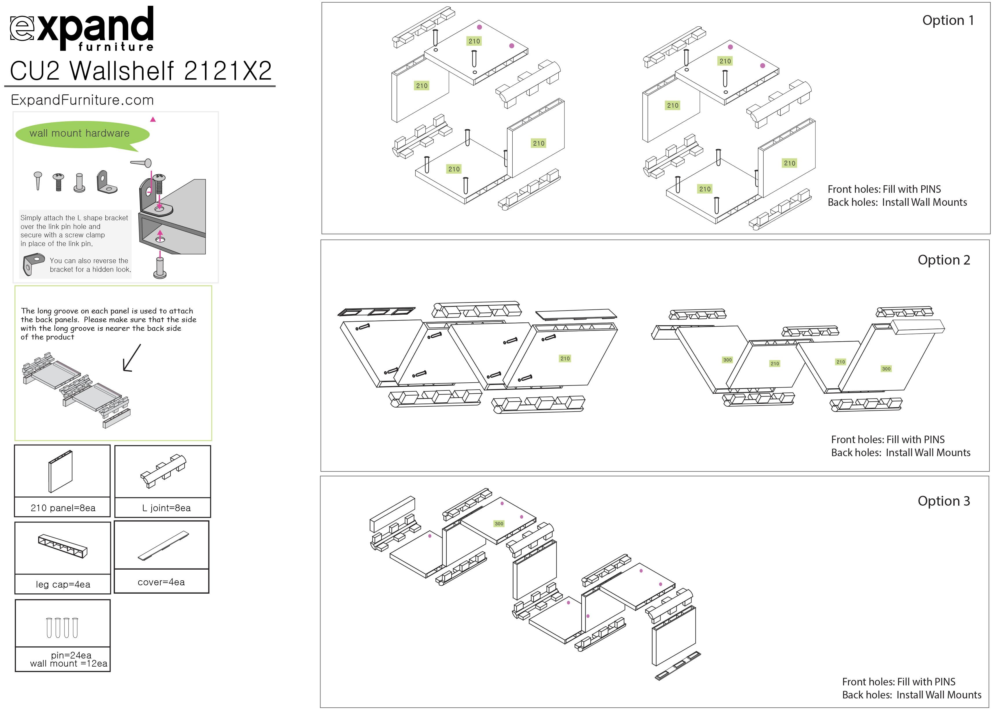 2121x2 unique cube wall shelves expand furniture prev ccuart Images