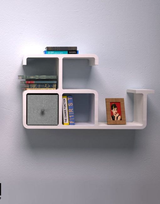 dolphin shaped wall shelving | expand furniture