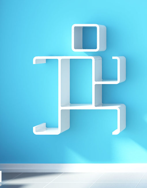 Modular-wall-shelf-run-above-sofa