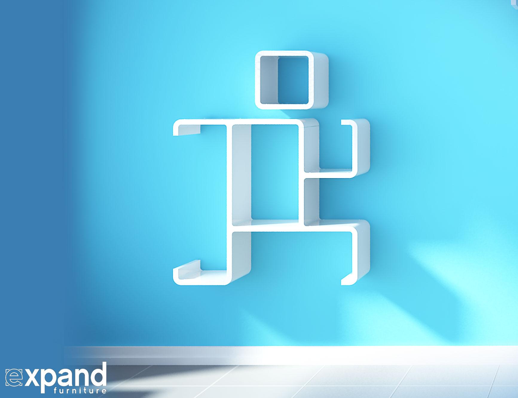 Running Hero Decorative Shelf Expand Furniture