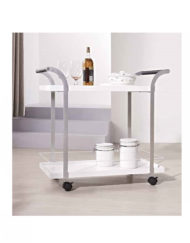 Motion-Tea-trolley-cart-in-Glossy-white-and-silver1
