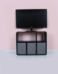 Shallow-depth-tv-stand-in-black