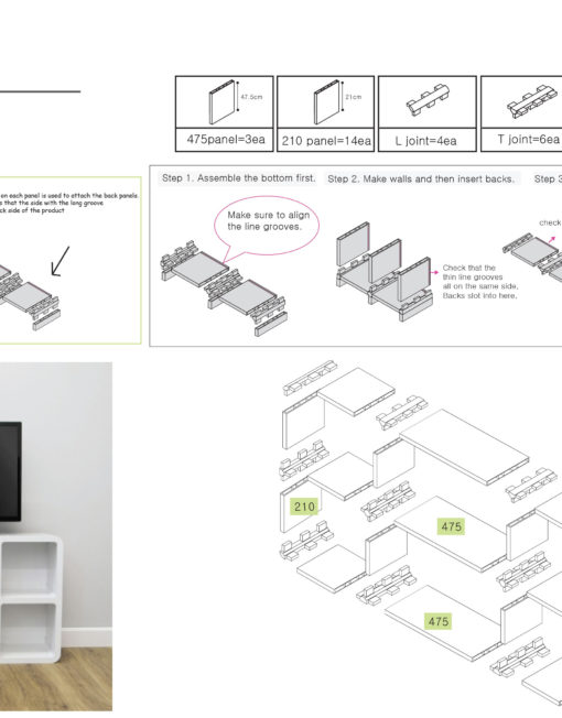 TV-Slim-stand-1-design-and-assembly