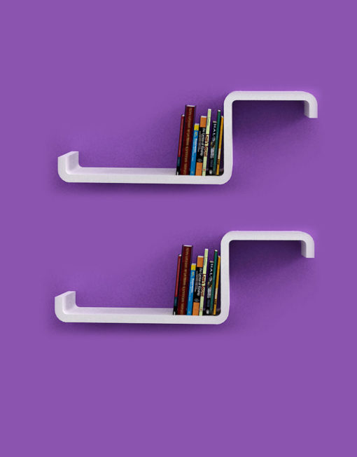 Modular Wall Shelving cx2 unique shelving units - with color options | expand