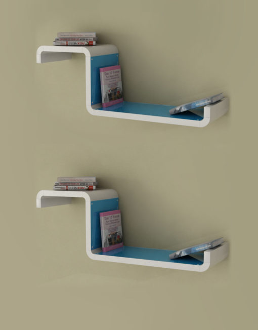 Wall-Shelf-CX2-G-Blue-Color