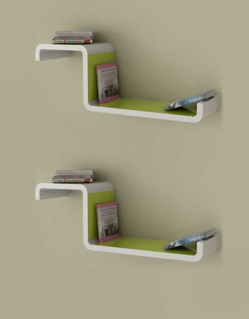 Wall-Shelf-CX2-G-Green-Color
