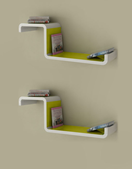 Wall-Shelf-CX2-G-orange-Color