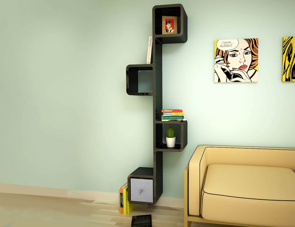 Wall-Shelf-Kong-in-Black-with-decorations-1