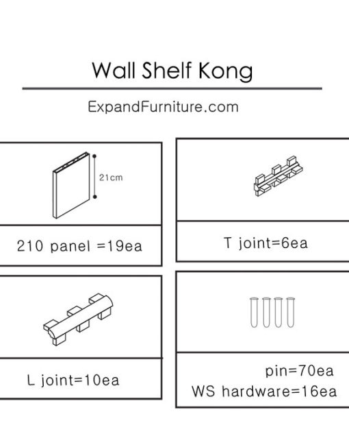 Wall-Shelf-Kong-parts
