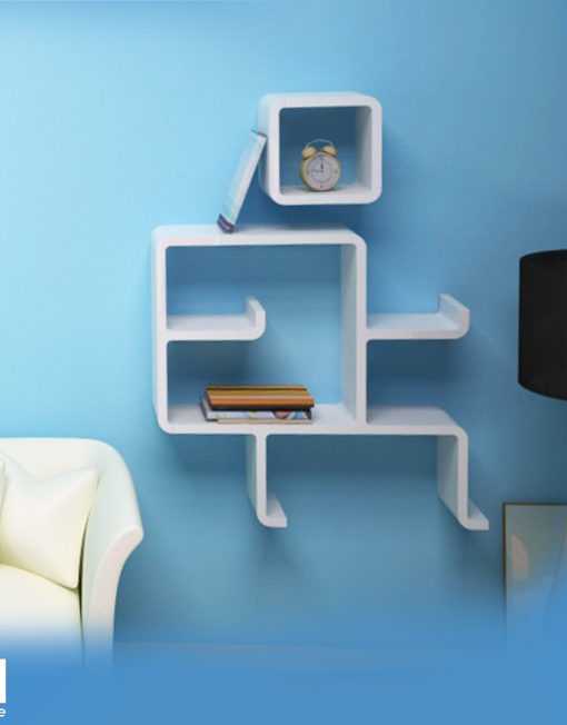 Wall-shelving-in-shape-of-landing-man