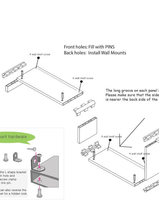 Wallshelf-U-diagram