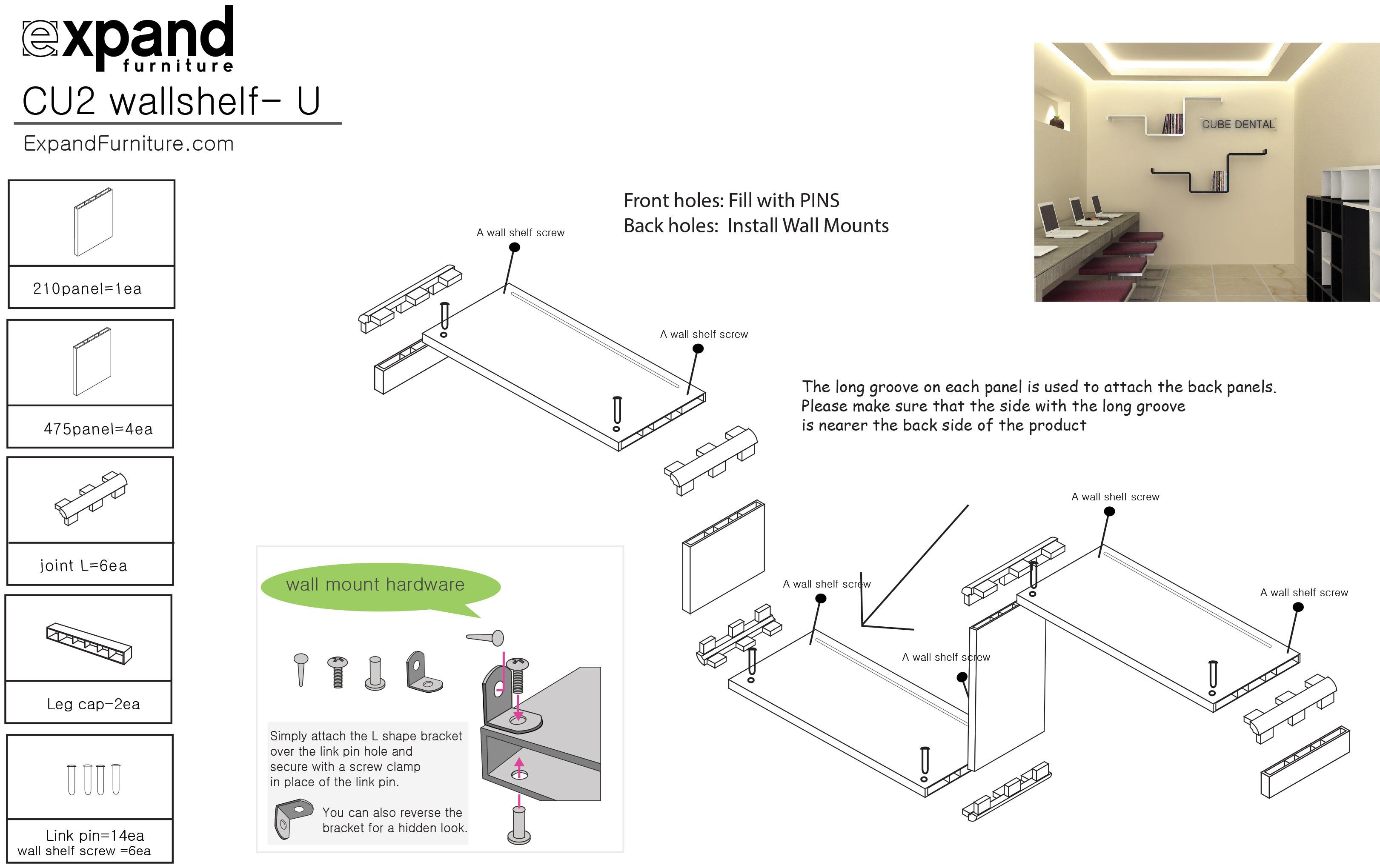 Modular shelf u expand furniture prev ccuart Images