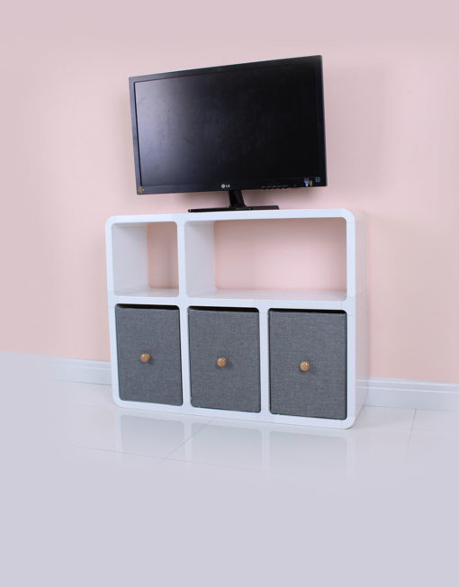 white tv entertainment center. Compact-tv-entertainment-center-for-small-apartments-in- White Tv Entertainment Center A
