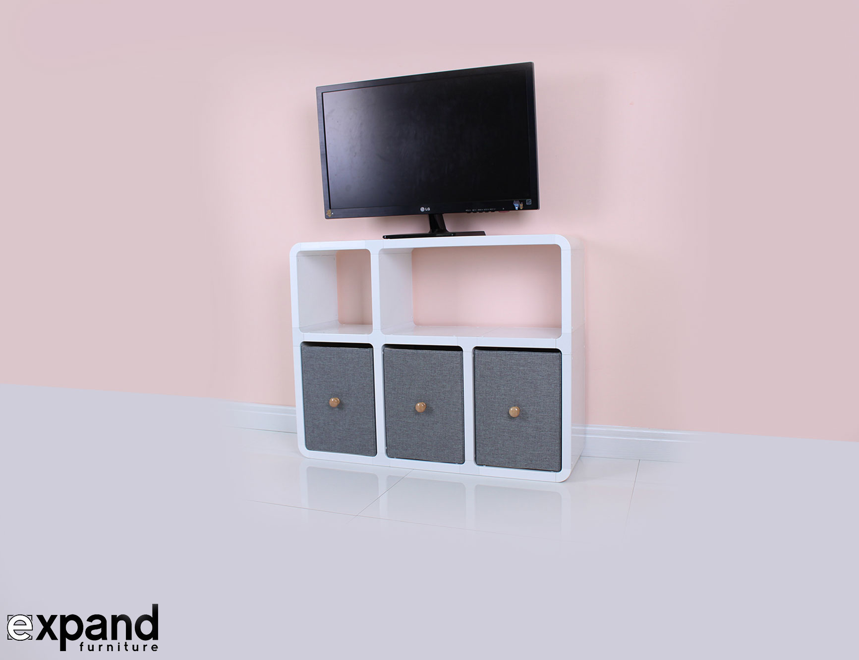 Slim Tv Stand 6 Made For Modern Thin Tvs Expand # Support Tv Pour Meuble