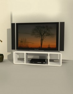 Modular Media Storage top open space
