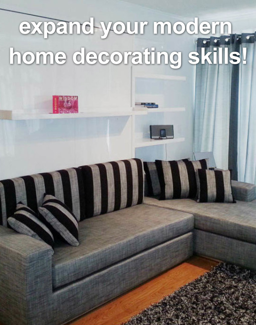 Home decorating with expand furniture