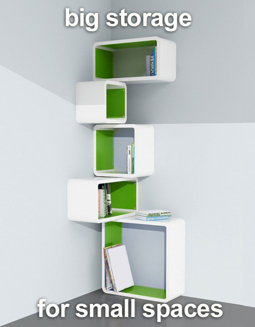 Great ways to improve small space storage expand furniture - Small spaces storage solutions image ...