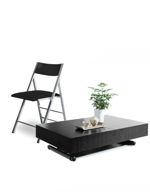 expandable furniture. plain expandable blackwoodboxcoffeewithmatchingblackchairs intended expandable furniture e