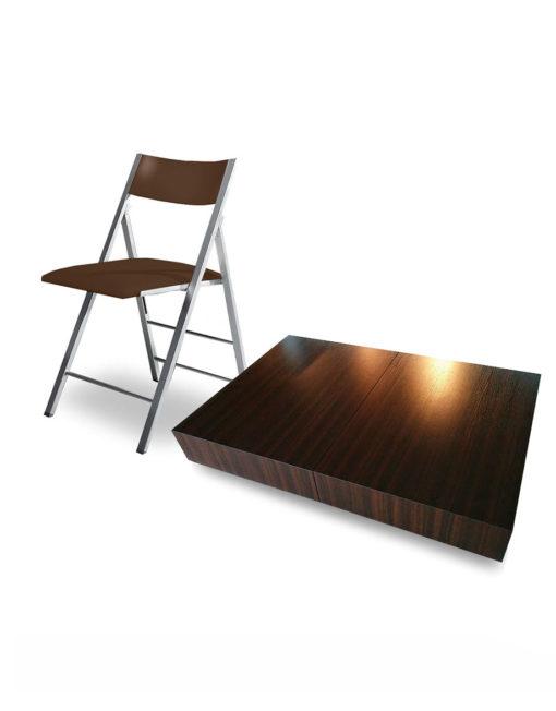 Walnut-Box-Coffee-set-with-Walnut-wood-chairs