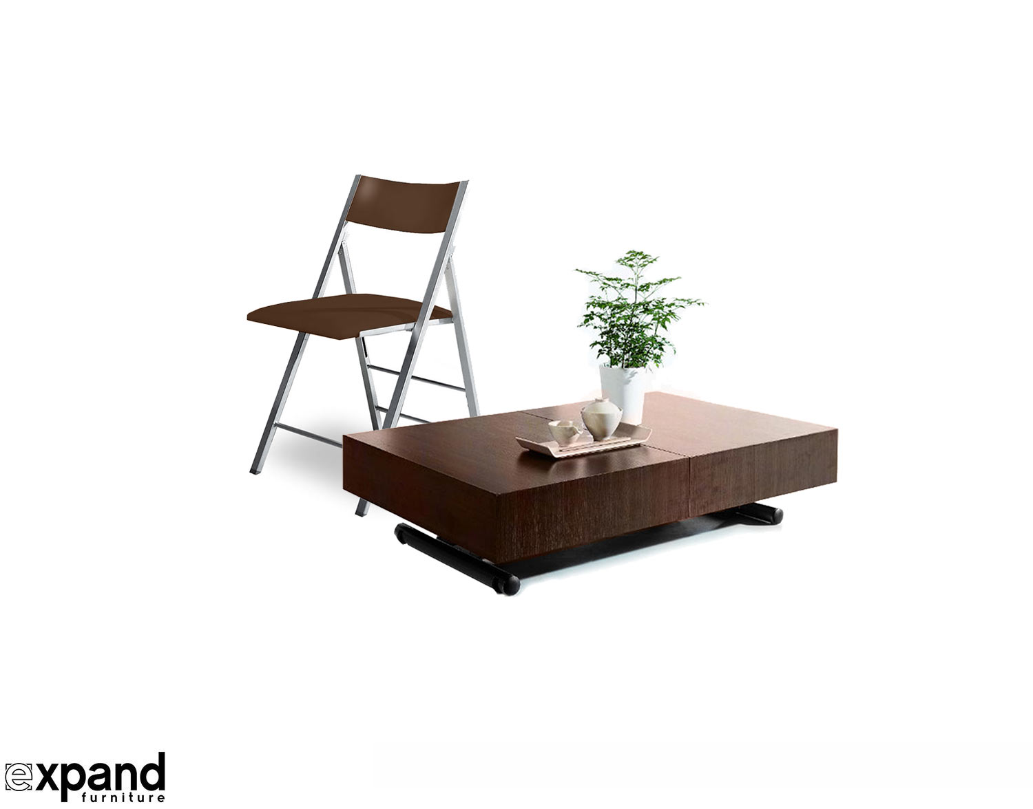 Expandable Box Coffee To Table Dining Set Expand