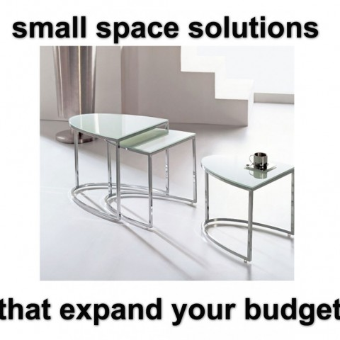 Smart space saving ideas for your home expand furniture for Smart space solutions