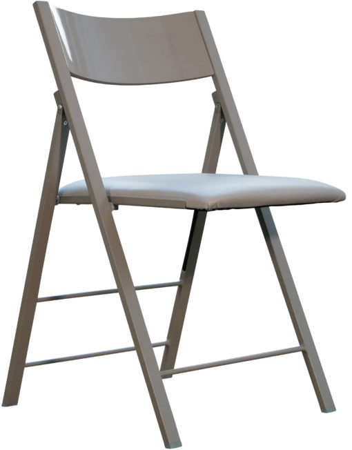 nano-folding-chair-in-glossy-coffee-grey
