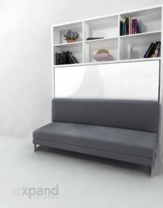 Wallbeds create floor space