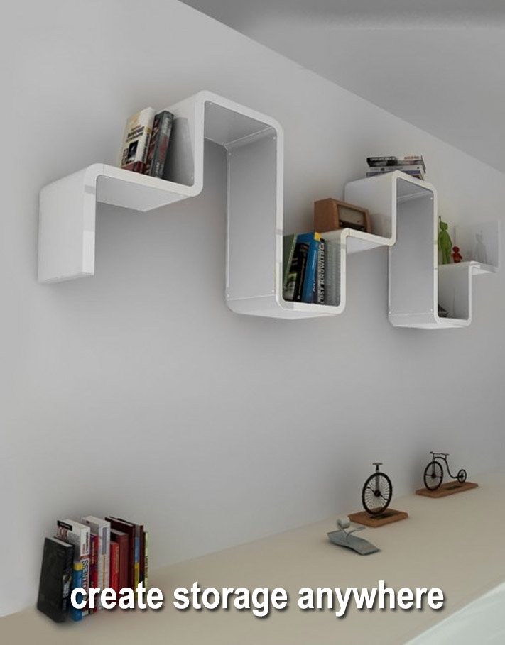 Modular storage in any room