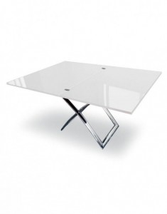 Modern expanding dining table set