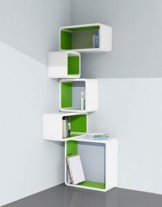 Modular Corner Cat Shelf