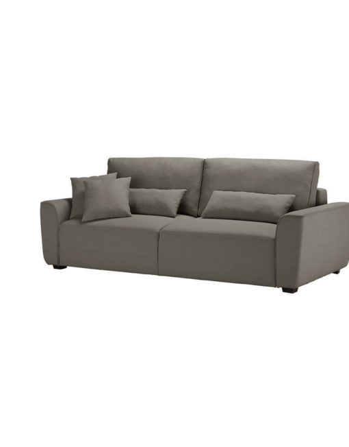 Cloud-Queen-Sofa-Sleeper-in-Pu-Taupe