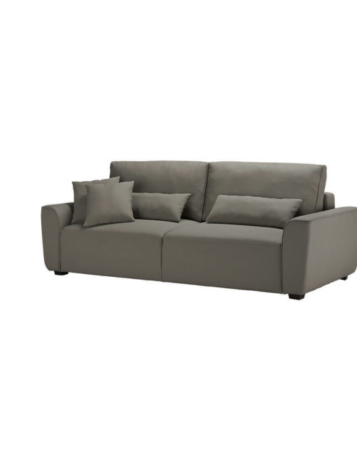 Cloud Queen Sofa Sleeper In Pu Taupe