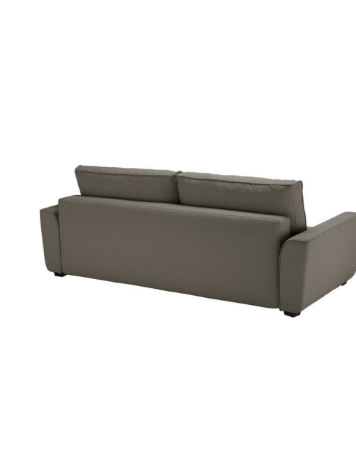 Cloud-Queen-Sofa-Sleeper-in-pu-taupe-from-the-back