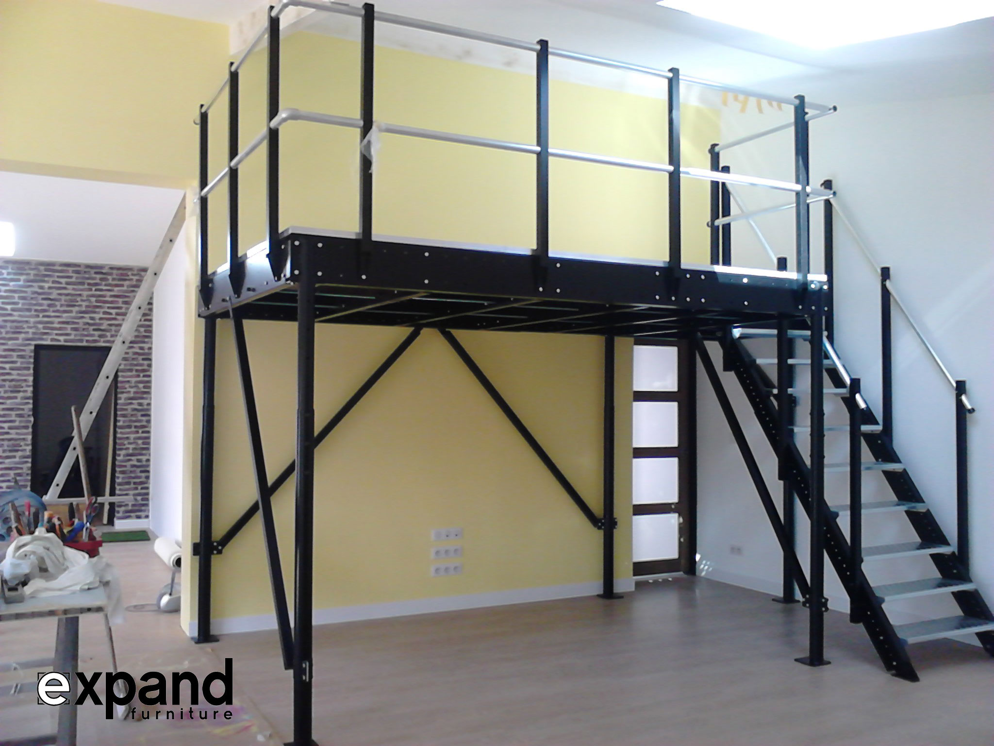 Custom loft package expand furniture folding tables smarter wall beds space savers - Expand furniture ...