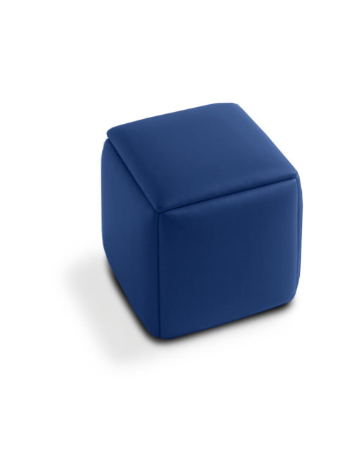 Cube 5 In 1 Ottoman Seat Blue Eco