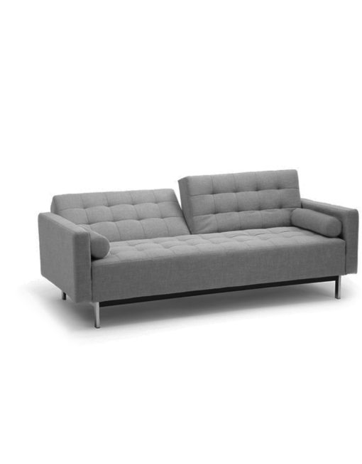 Tilt Mid Century Sofa Sleeper With Adjule Back