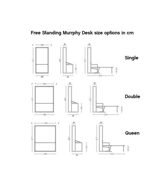 Free-Standing-Wall-Bed-Desk-dimensions